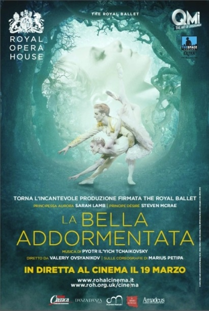 """Il 19 marzo arriva al cinema il celebre balletto de """"LA BELLA ADDORMENTATA"""" in diretta dalla ROYAL OPERA HOUSE di Londra"""