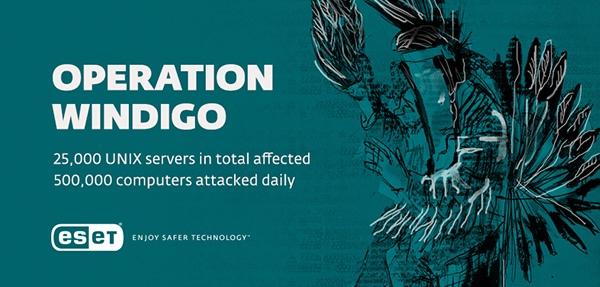 Operazione Windigo: scoperta una gigantesca campagna cyber-crime che ha già colpito 500.000 PC al giorno e 25.000 server Unix
