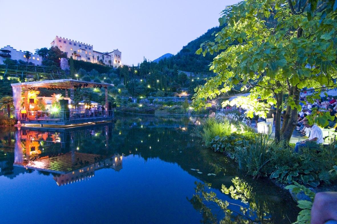 A Merano nei Giardini di Sissi i concerti all'aperto del  World Music Festival