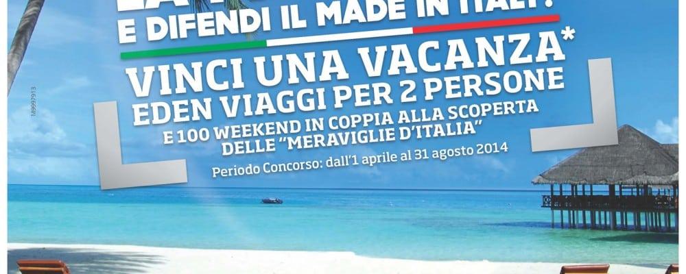 Grande Concorso Meliconi!  Attacca la TV al muro e difendi il made in Italy