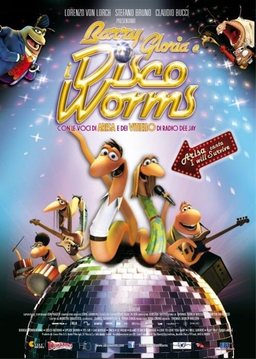 """Il 10 aprile arriva al cinema il film d'animazione """"BARRY, GLORIA E I DISCO WORMS"""" (con la voce di ARISA)"""