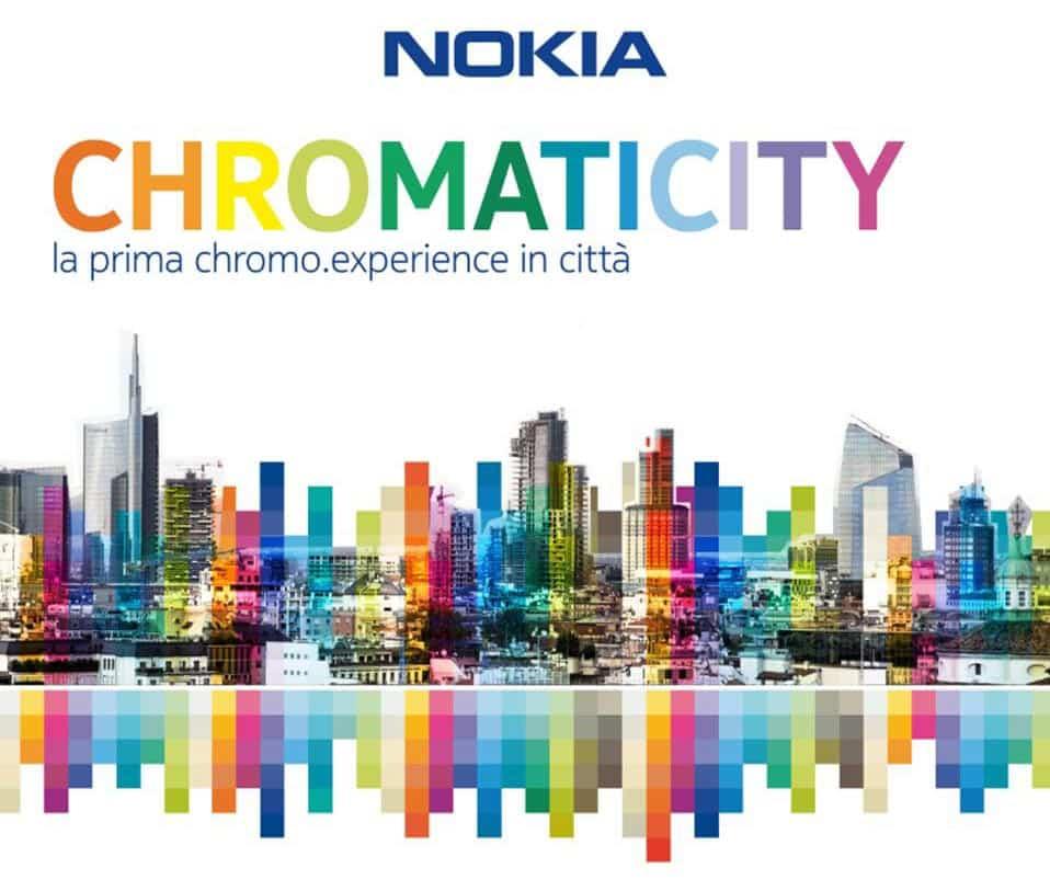Nokia al Salone del Mobile colora le notti della design week milanese.