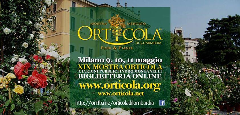 Dal 9 all'11 maggio Orticola torna a Milano ai Giardini Pubblici Indro Montanelli