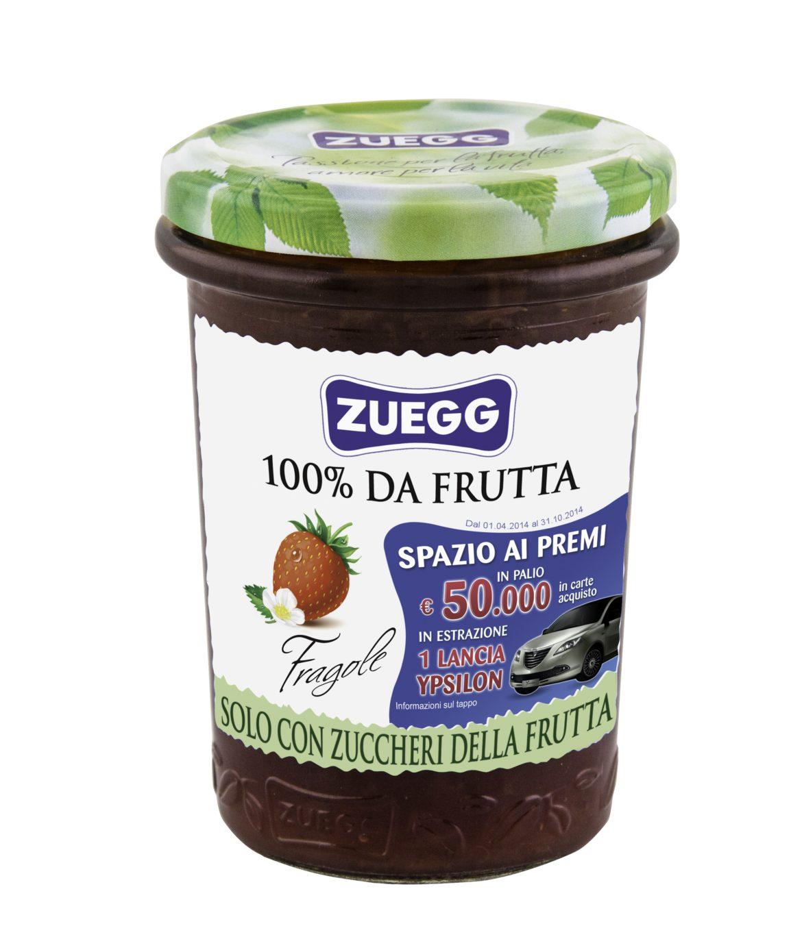 """Spazio alla frutta : Parte il concorso delle nuove confetture Zuegg""""100% da frutta"""""""