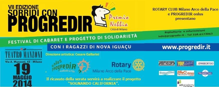 Settima edizione del Premio Nebbia al Teatro Manzoni di Milano