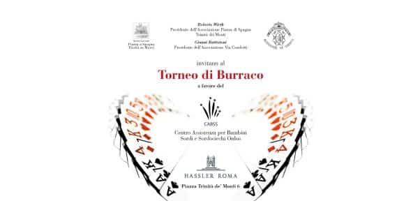 A Roma un torneo di burraco benefico a favore dei bambini sordi e sordo-ciechi