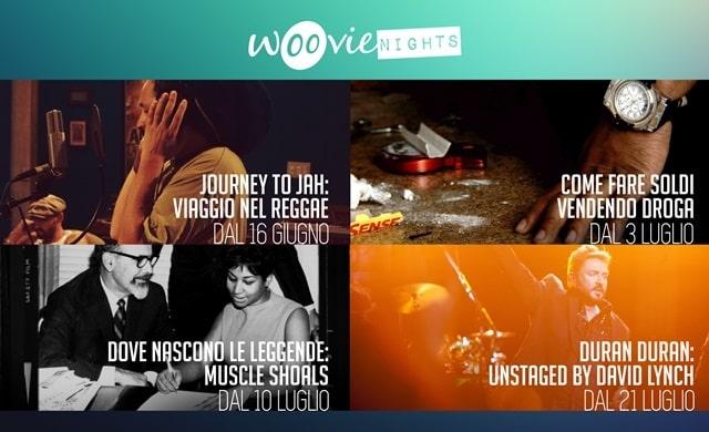 Woovie Nights : quest'estate al cinema la musica è … tutta da vedere!