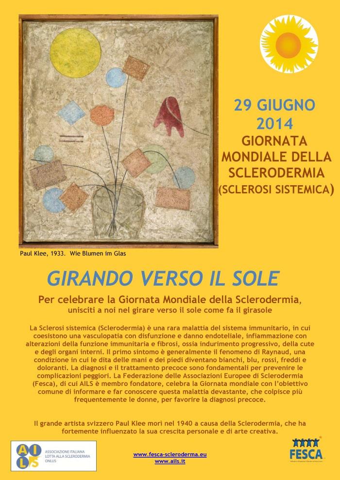 Il 29 giugno si celebra la 6^ Giornata Mondiale della Sclerodermia