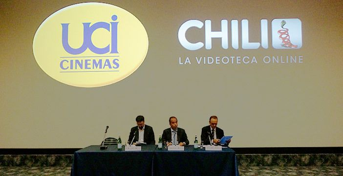 UCI CINEMAS e CHILI: nasce la partnership per la videoteca on line