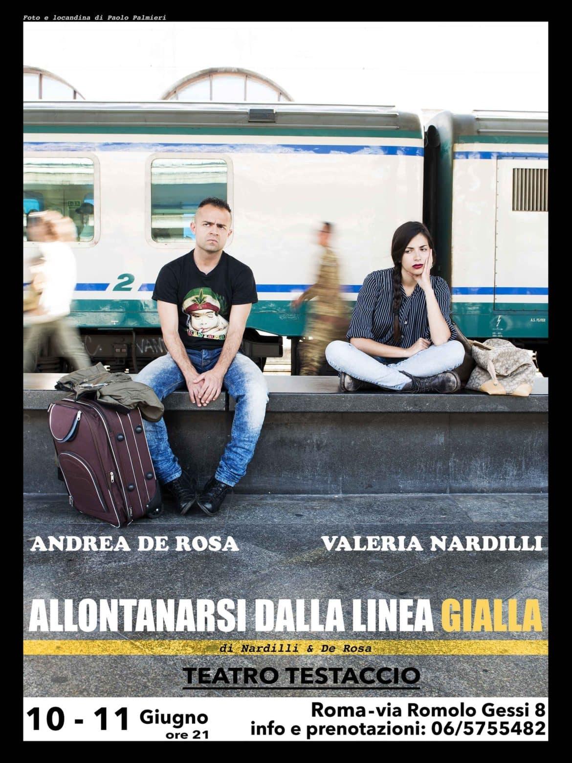"""Al Teatro Testaccio di Roma in scena """"Allontanarsi dalla linea gialla"""""""