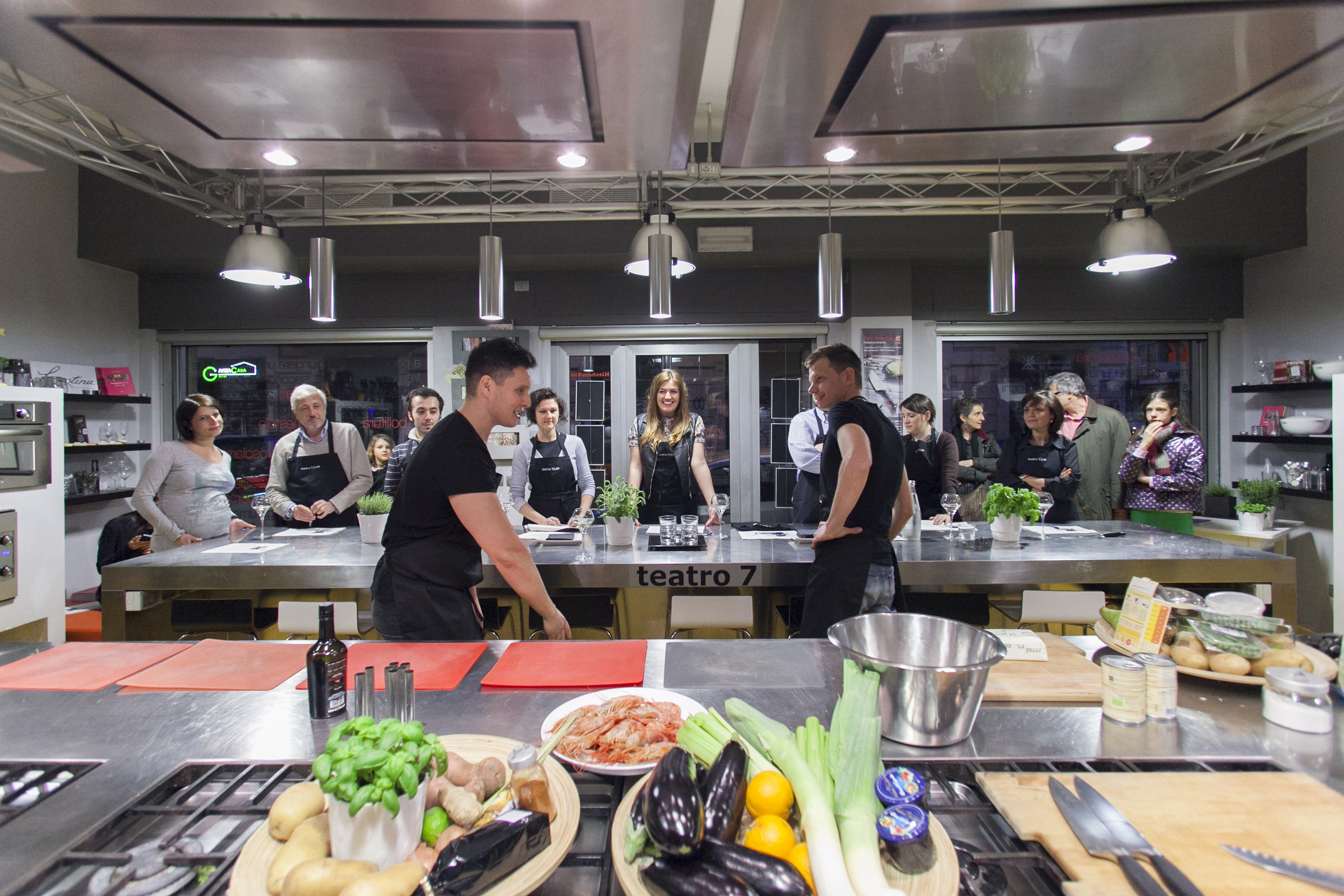scuola di cucina teatro7lab