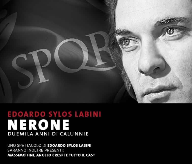 NERONE Duemila anni di calunnie in scena al Teatro Manzoni di Milano