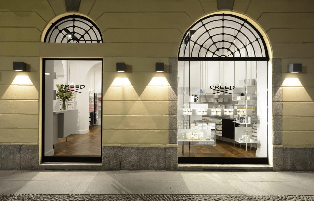Calé inaugura a Milano la nuova boutique della Maison Creed