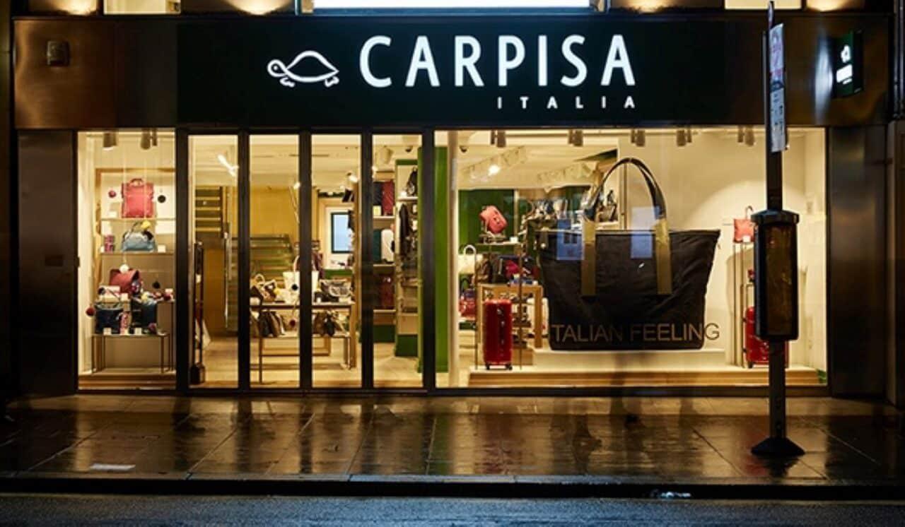 Restyling dello store Carpisa a Londra