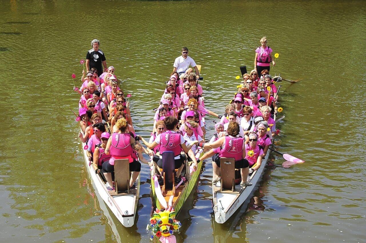 Le FLORENCE DRAGON LADY ringraziano i numerosi sostenitori in attesa del IV INTERNATIONAL DRAGON BOAT FESTIVAL