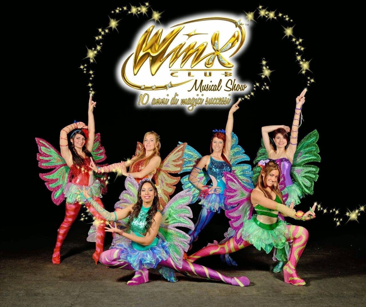 WINX CLUB MUSICAL SHOW al Teatro della Luna