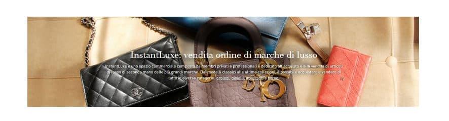 Instantluxe.it: il lusso di seconda mano finalmente in Italia
