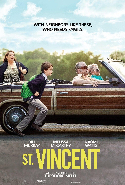 L'emozionante film ST. VINCENT al cinema dal 18 dicembre 2014