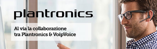 Plantronics &VoipVoice insieme nel mercato ICT