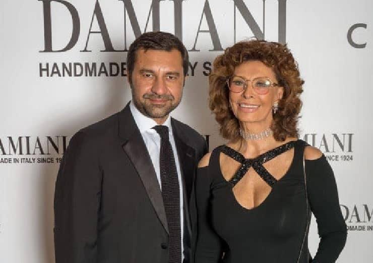 Damiani e Sophia Loren festeggiano a Taipei i novant'anni del brand