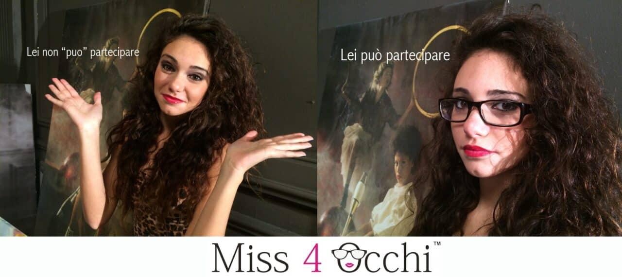 Miss 4 Occhi, la manifestazione che premia … chi porta gli occhiali!