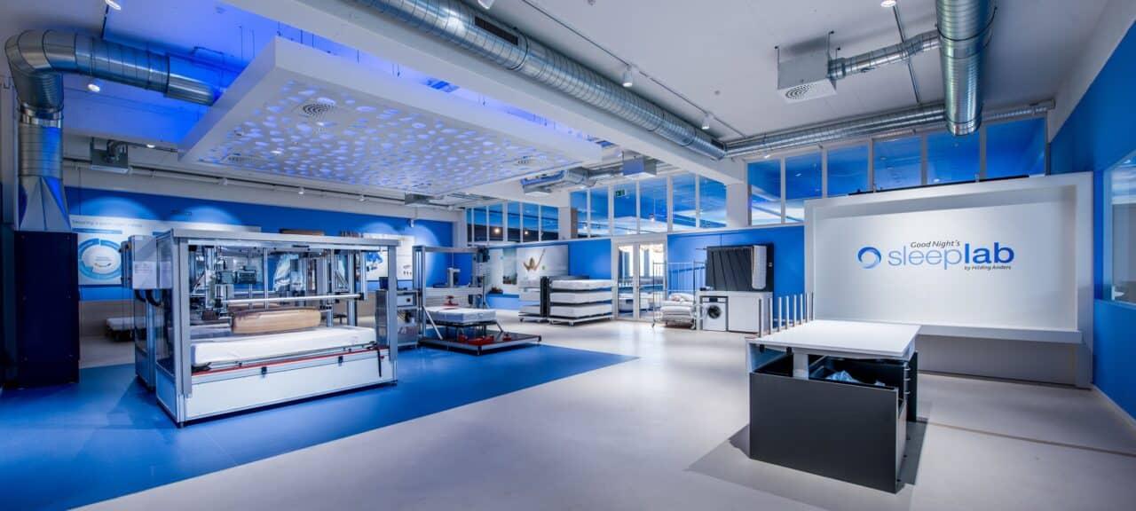 Hilding Anders inaugura in Svizzera il suo nuovo centro ricerche del sonno