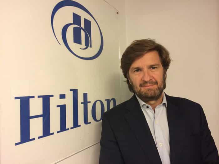 Hilton Worldwide: Javier Sancho, Direttore Commerciale per l'Italia e il sud Europa