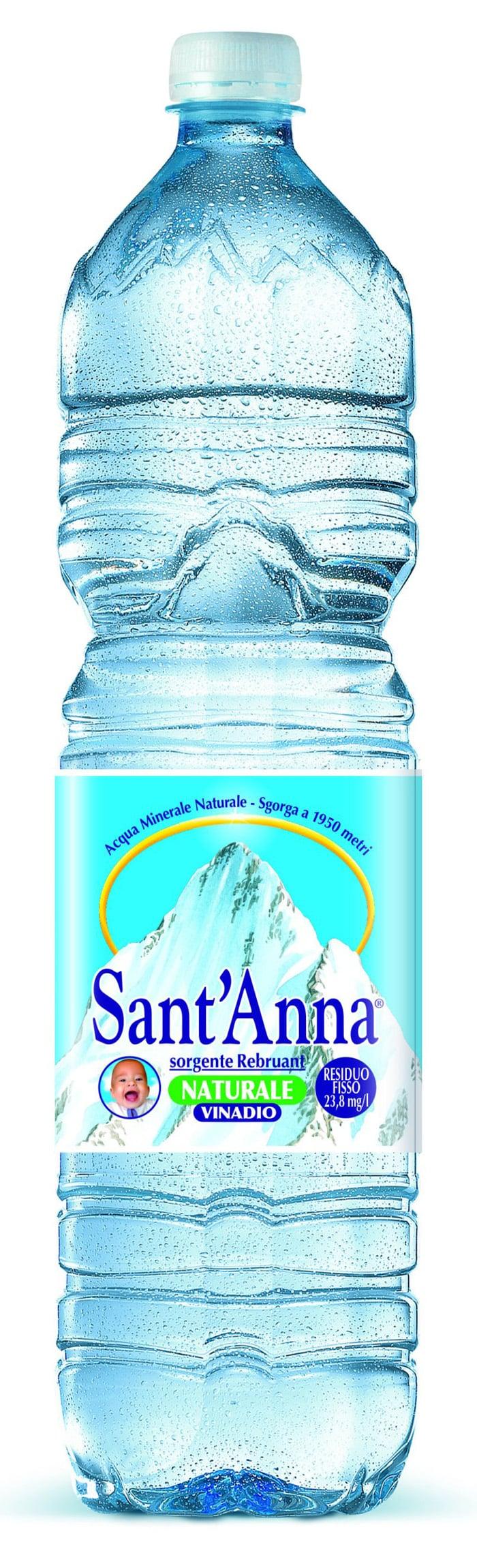 L'acqua Sant'Anna alla conquista della Cina