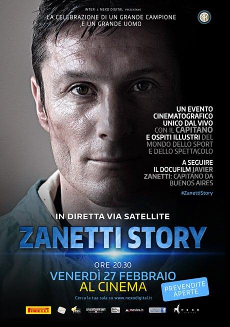 Zanetti Story, il film sull'inarrivabile Capitano da Buenos Aires
