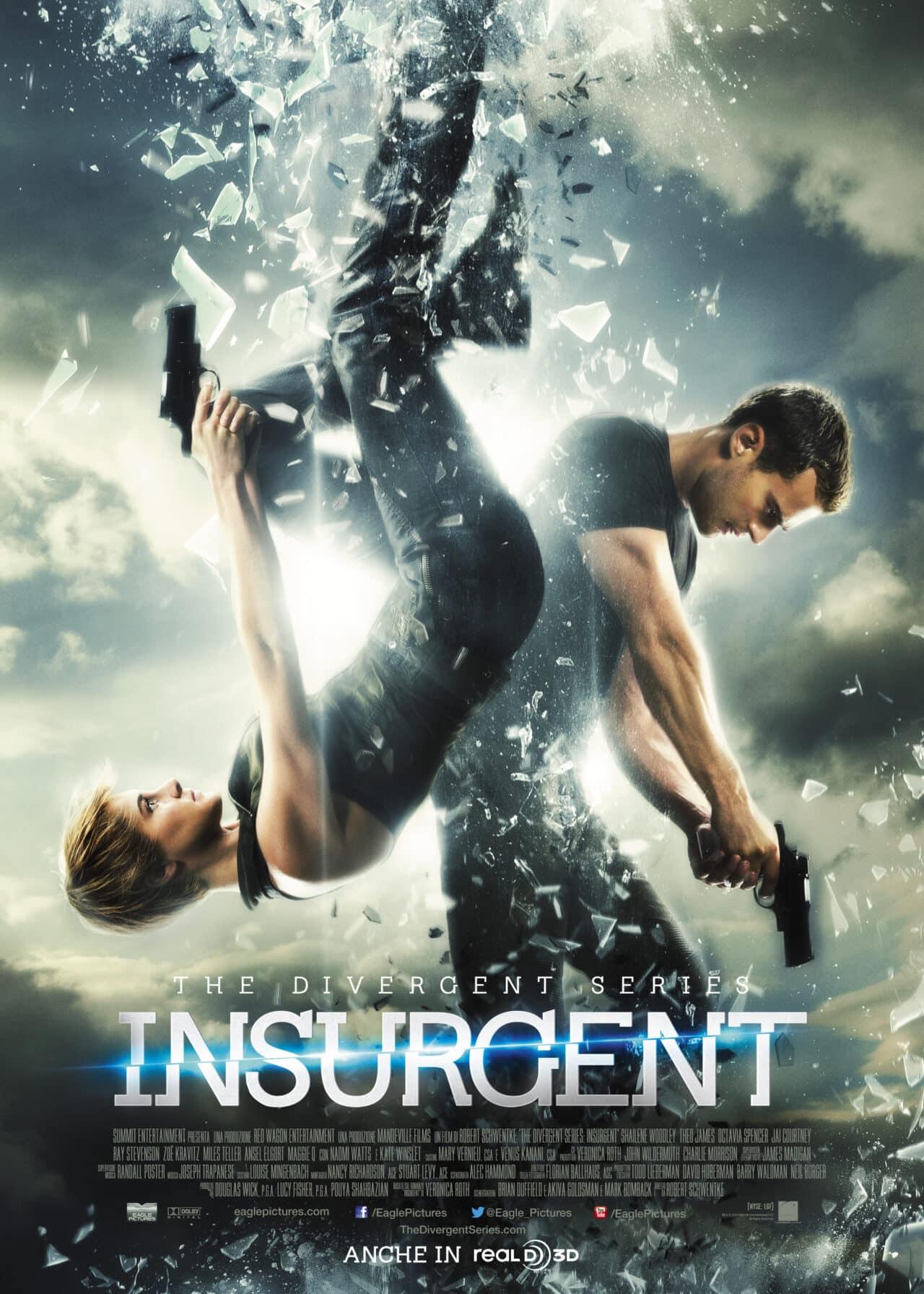 Insurgent, l'avvincente  film che fa parte di The Divergent Series, nelle sale dal 19 marzo