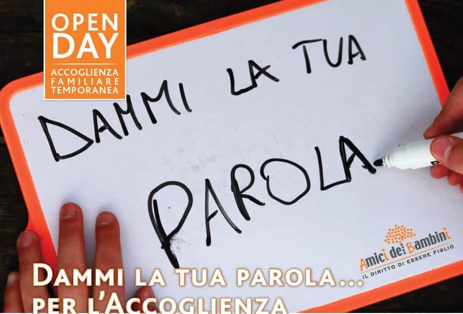 Open day  21 Marzo per conoscere l'accoglienza familiare temporanea