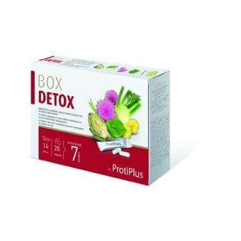 Grazie a Box Detox Protiplus i benefici delle piante al servizio del vostro benessere