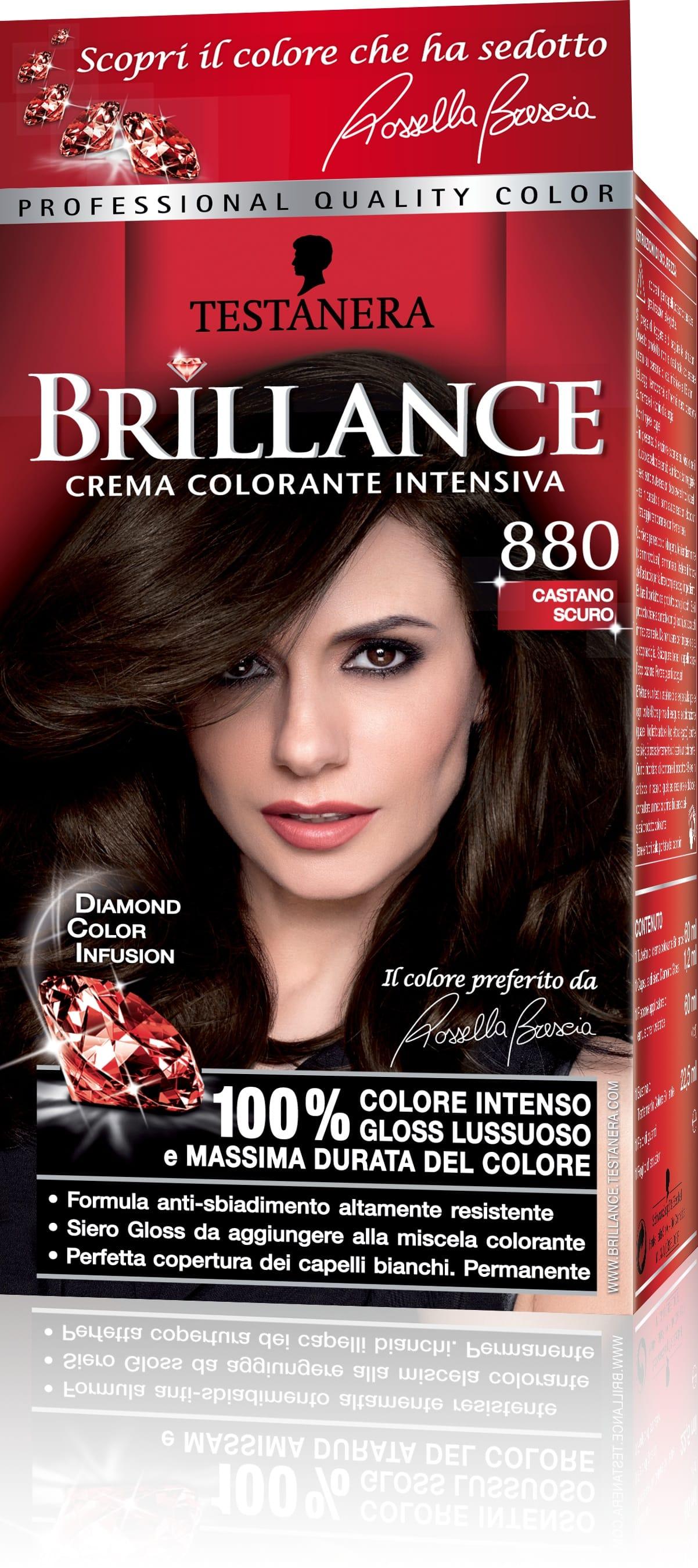 Colore capelli testanera brillance