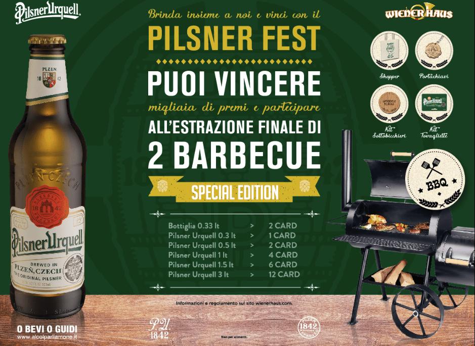 WIENER HAUS lancia un fantastico concorso con due barbecue in premio