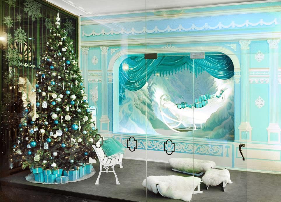 Da Tiffany & Co a Milano 'Favole nella Dimora incantata di Babbo Natale'