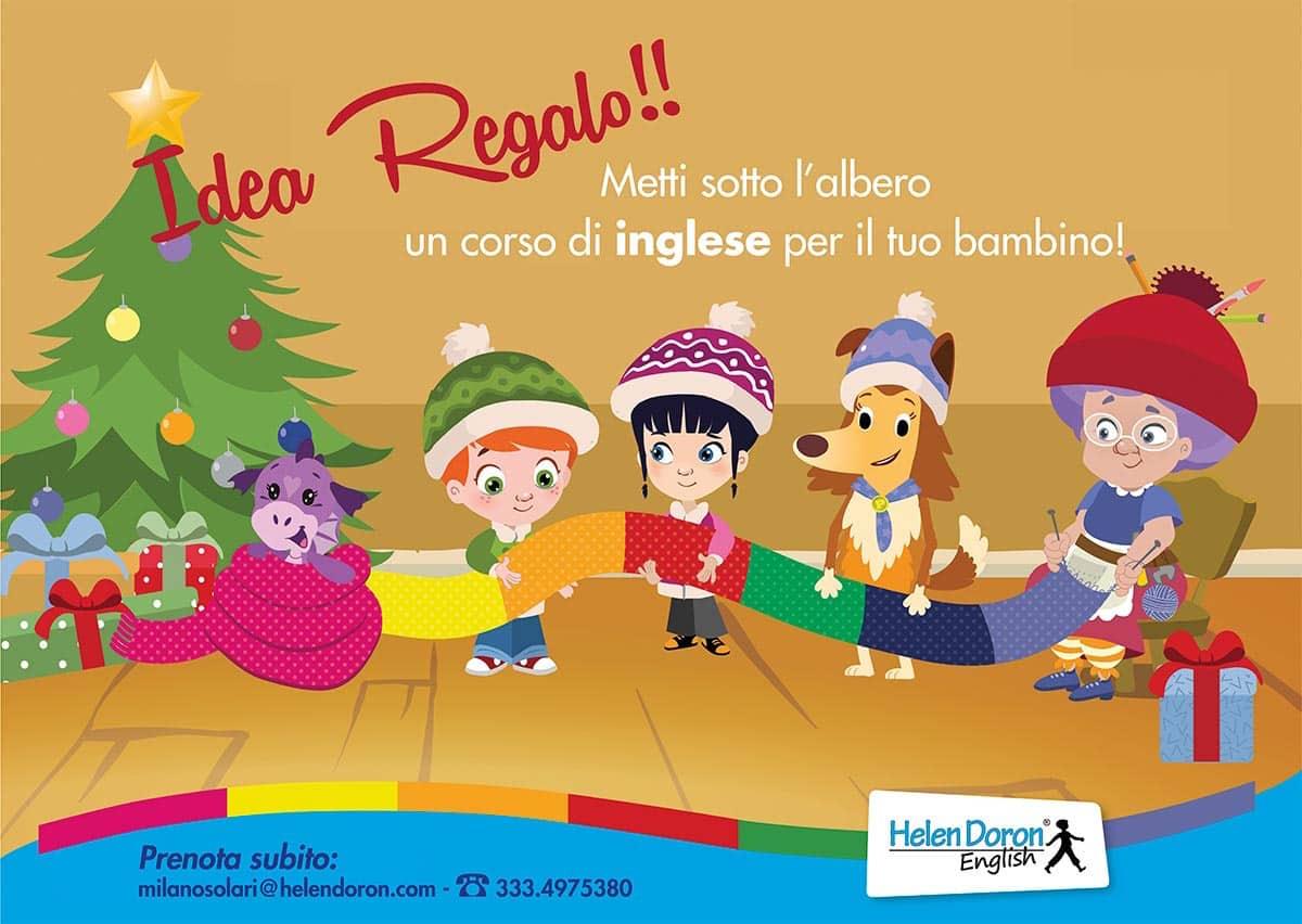 A Natale un regalo per la vita:  un corso Helen Doron English per il nostro bambino