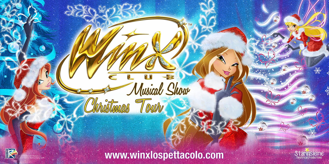 Torna  a teatro il Winx Club Musical Show – Christmas  Tour
