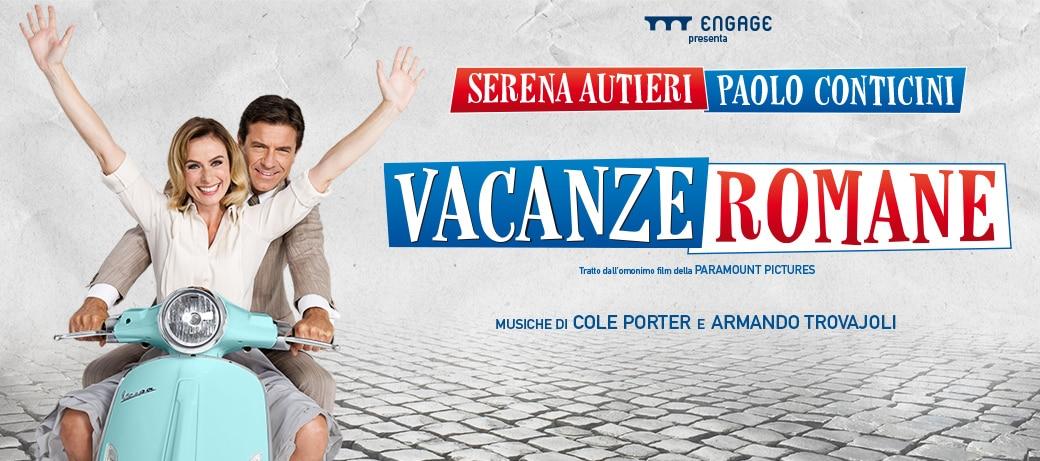 La commedia romantica  Vacanze Romane al Teatro LinearCiak di Milano