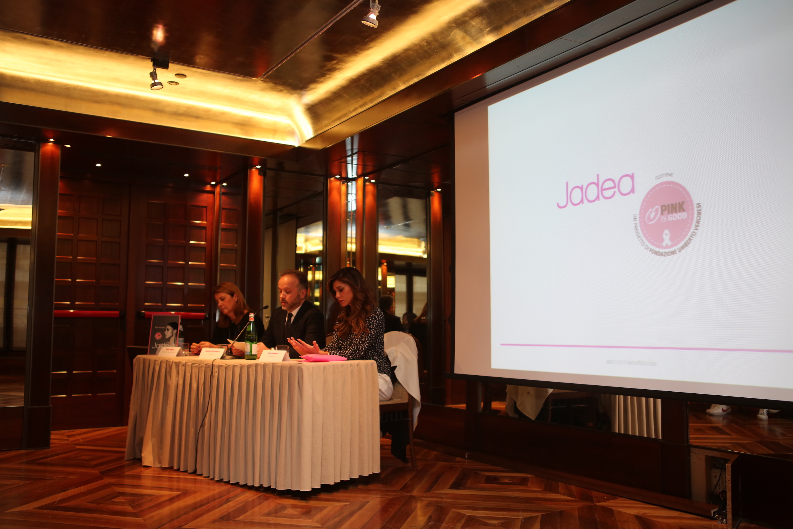 Jadea sostiene il progetto PINK IS GOOD della Fondazione Umberto Veronesi