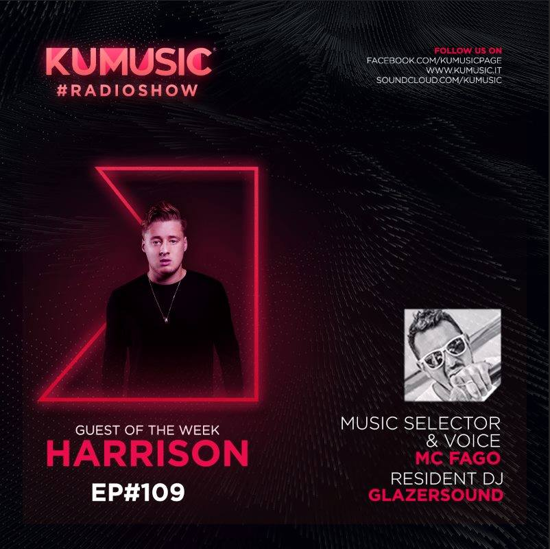Kumusic RadioShow ep #109: guest Harrison