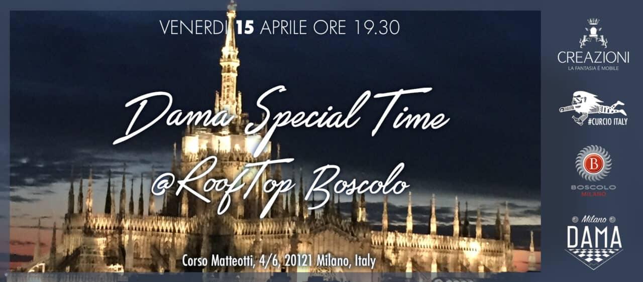 Dama Special Time Aperitivo Sulla Terrazza Del Boscolo Hotel