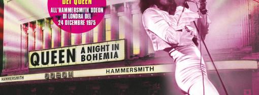 Sullo schermo del cinema Martinitt lo storico concerto dei Queen. Dal 16 al 18 maggio
