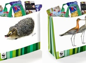 Willow disegna le nuove shopper Auchan per WWF