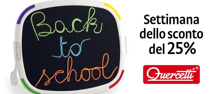Un back to school conveniente con la promozione Quercetti