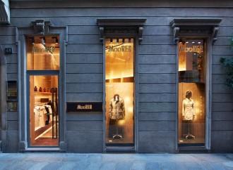 Il nuovo flagship store MooRER inaugura in via della Spiga