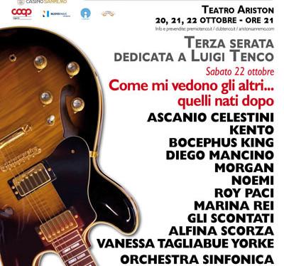 50 anni senza Luigi Tenco: al Teatro Ariston di Sanremo una serata d'eccezione