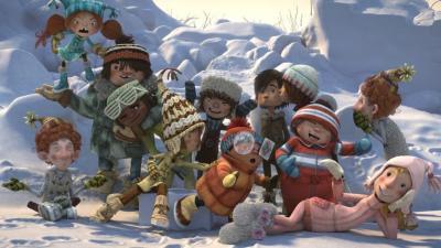 Palle di neve, il divertente film d'animazione ambientato tra le nevi del Canada