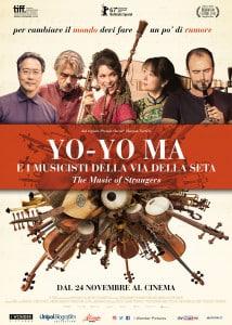 Yo-Yo Ma e i musicisti della via della seta, il docu-film sul potere aggregante della musica