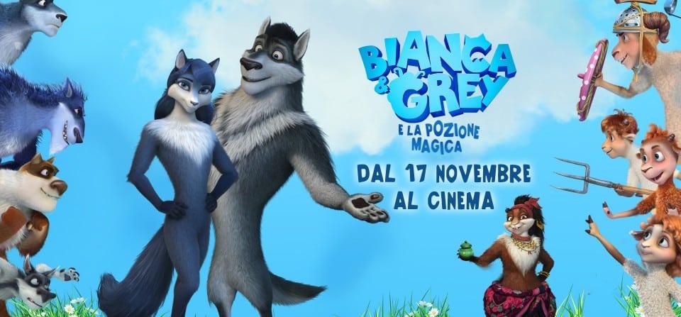 Bianca & Grey e la pozione magica , un divertente film d'animazione nelle sale dal 17 novembre