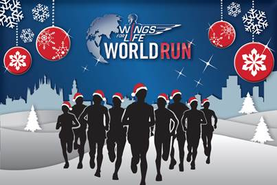 Per Natale metti sotto l'albero un voucher per la Wings For Life World Run 2017